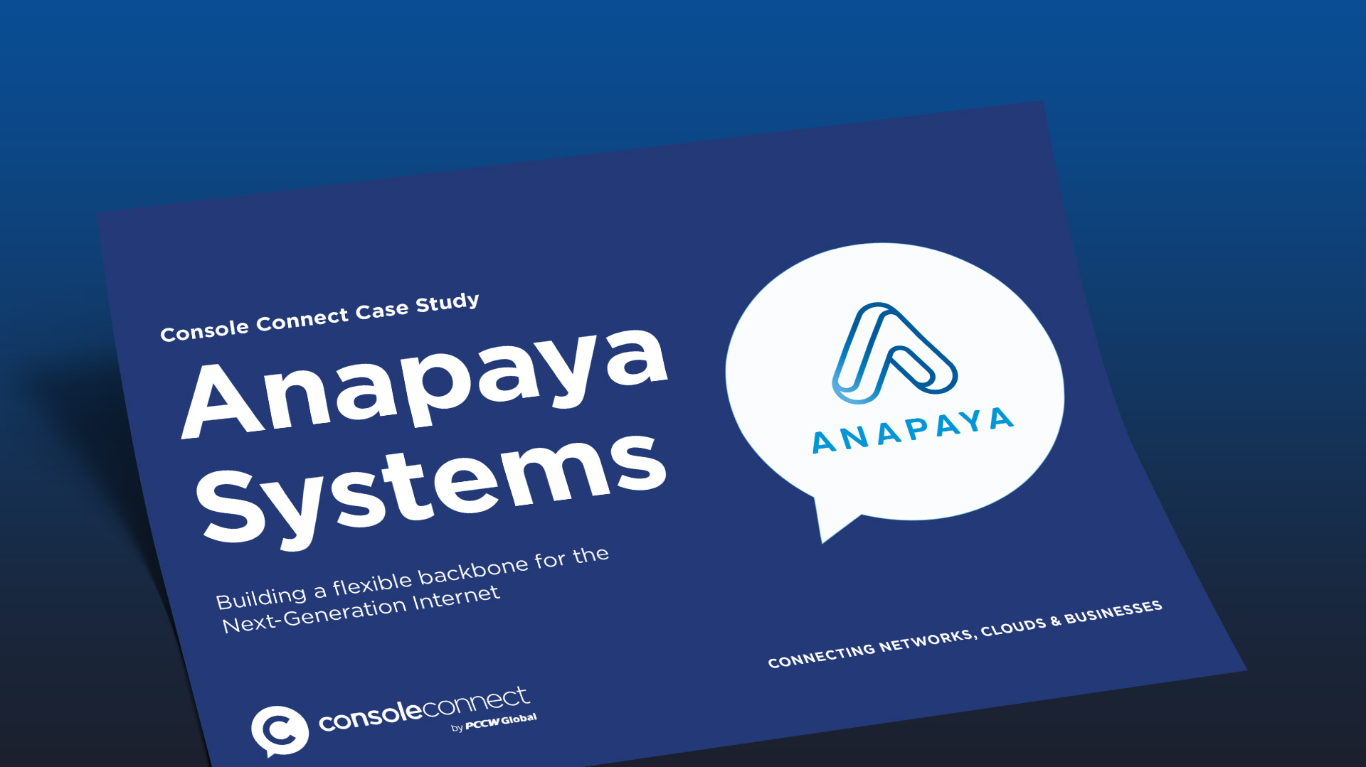 Anapaya Case Study: ConsoleConnect - Banner